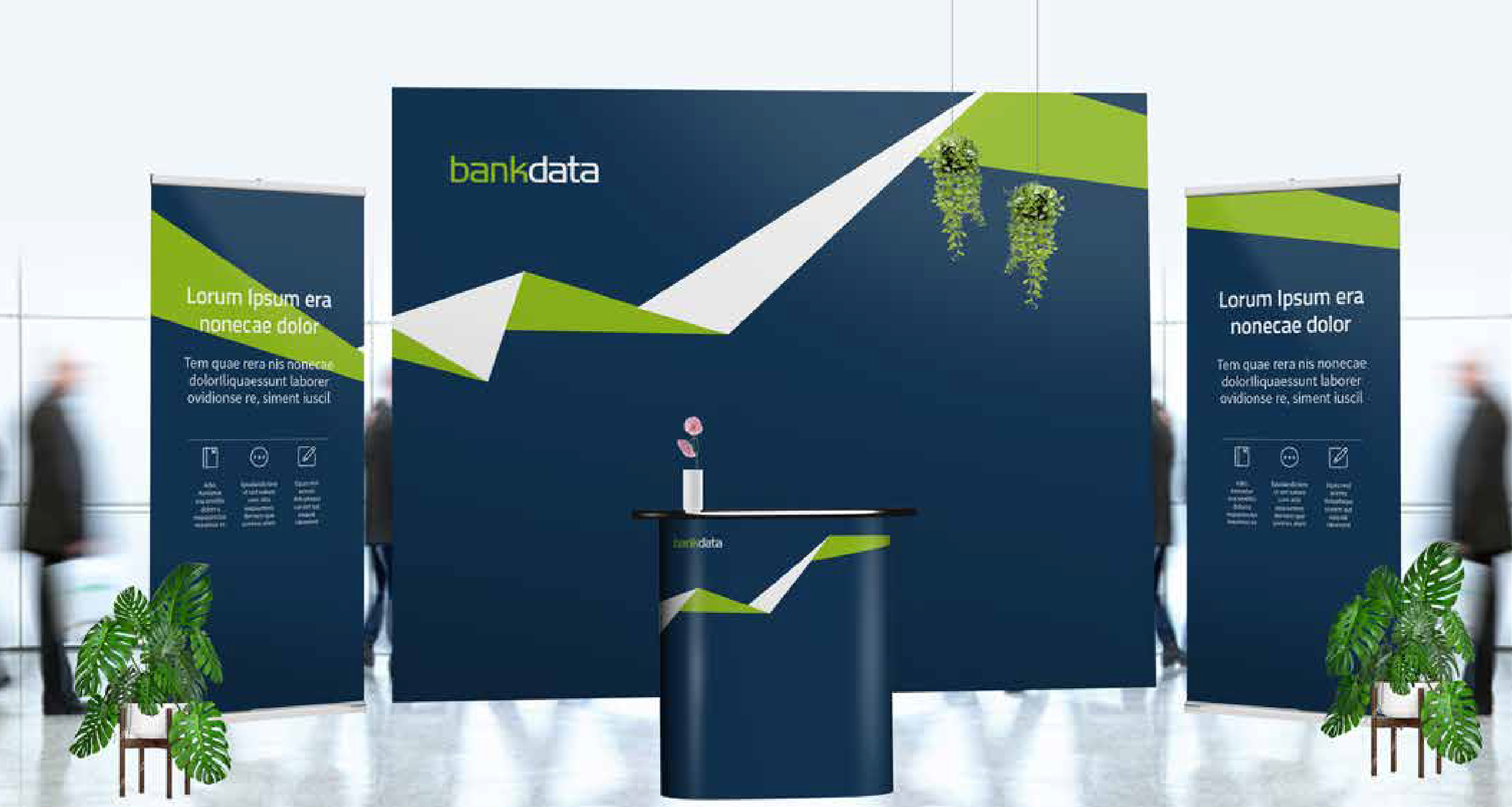 Bankdata messestand